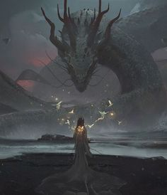 Imagen de dragon and fantasy