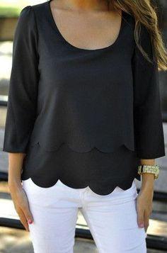 Woman Sexy backless Chiffon shirt Hollow Wavy