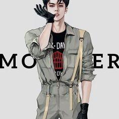 Sehun fanat #exo #sehun #monster