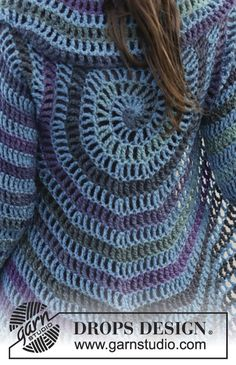 Crochet-Circular-Jacket-Pattern-Free