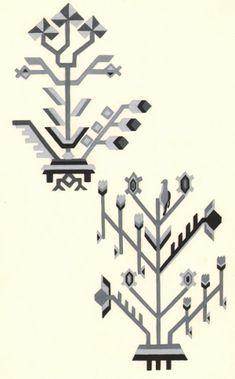 Motivul pomul vieții Stencil Art, Stencils, Folk Costume, Costumes, Folk Embroidery, Persian Rug, Folk Art, Carpet, Clip Art