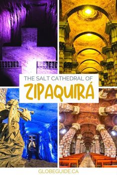 There's a rather quirky attraction in Colombia that's worth the day trip: an entire underground church dug out of salt, called the Salt Cathedral of Zipaquira.  Colombia travel | South America travel