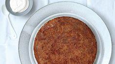 Gluten Free Brown Butter–Polenta Cake with Maple Caramel Recipe Recipe | Bon Appetit