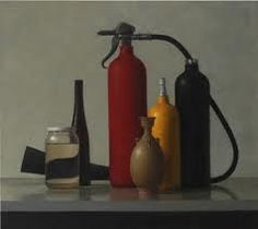1225 x 1375 Oil on linen, this still life by Jude Rae is exquisite. Painting Still Life, Still Life Art, Powerful Art, Hyperrealism, Fire Extinguisher, Contemporary Art, Art Gallery, Arts And Crafts, Glass