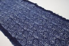 Traditional Batik Indigo Fabric from Hmong Village by HomeByPat