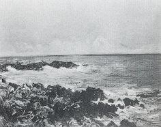 Rochers et mer (C Monet - W 895),1884.