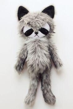 raccoon friend :: bijou kitty