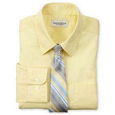 $20 - Van Heusen® Shirt & Tie Set - Boys 4-20 - jcpenney