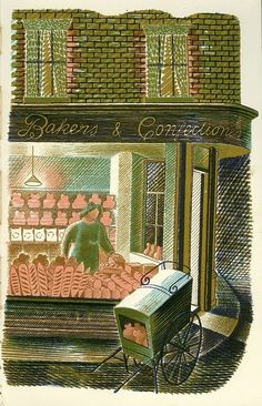 BAKER AND CONFECTIONER / 'Eric Ravilious: The Story of High Street'