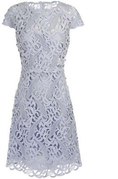 ShopStyle: VALENTINO Guipure lace dress