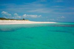 A deserted beach in Abaco