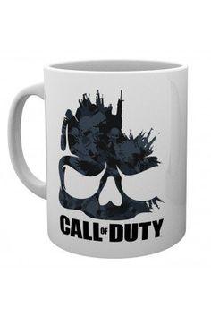 Call Of Duty Skull Mug