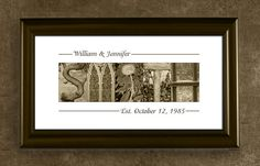 Personalized Alphabet Photography Name Print - Wedding, Anniversary Gift, Home Decor, Personalized Name Print on Etsy, $29.95