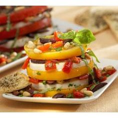 Stacked Salad Recipe on Yummly