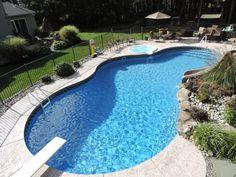15 Best Inground Pool Ideas Images Swimming Designs