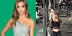 Why Doing Pulling Exercises Like Josephine Skriver Is Important for Building Total-Body Strength