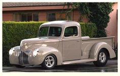 40's Pickup truck...Brought to you by Agents of #CarInsurance at #HouseofinsuranceEugene