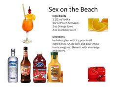Sex on the Beach, the 80's called and wants you to drink! - Vodka Drinks | Midnight Mixologist
