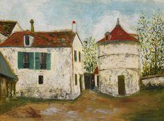 Maurice Utrillo | Paris painting | Tutt'Art@ | Pittura * Scultura * Poesia * Musica |