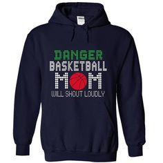 Danger Basketball mom will shout loudly T Shirts, Hoodies, Sweatshirts. GET ONE ==> https://www.sunfrog.com/Sports/Danger-Basketball-mom-will-shout-loudly-7420-NavyBlue-16314898-Hoodie.html?41382
