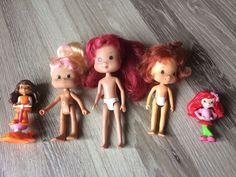 Strawberry Shortcake LOT of Dolls Including 2 McDonalds Happy Meal Toys  | eBay