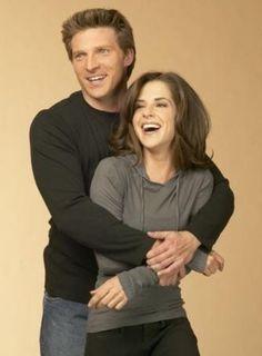 Jason and Sam. Favorite couple. Steve Burton and Kelly Monaco