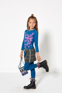 Glamping | Fashion | Top | Print | Pink | Blue | Skirt | Aztec | Lookbook