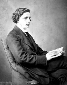 """January 14th, 1898- Lewis Carroll, writer (Alice in Wonderland), dies at 65. He died at his sisters' home, """"The Chestnuts"""" in Guildford, of pneumonia following influenza. He was two weeks away from turning 66 years old. He is buried in Guildford at the Mount Cemetery."""