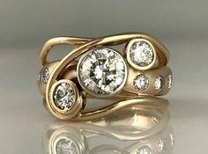 Custom Jewellery Design Archives - Page 2 of 9 - Jeanette Walker Jewellery Vintage Diamond Rings, Vintage Rings, Vintage Jewelry, Unique Jewelry, Pink Sapphire Ring, Custom Jewelry Design, Diamond Cluster Ring, Jewelry Rings, Jewellery