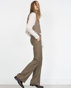 Image 4 of WIDE-LEG TROUSERS from Zara