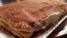 Znáte původní recept na lahodné tiramisu? My Vám tento recept prozradíme! Serbian Recipes, Czech Recipes, Ethnic Recipes, Serbian Food, Sweet Desserts, Sweet Recipes, Dessert Recipes, Tiramisu Original, Baby First Birthday Cake