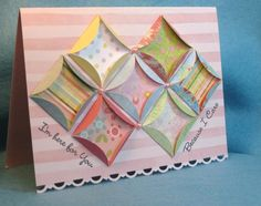 HYCCT1327 Cathedral Window Quilt by mcost - Cards and Paper Crafts at Splitcoaststampers
