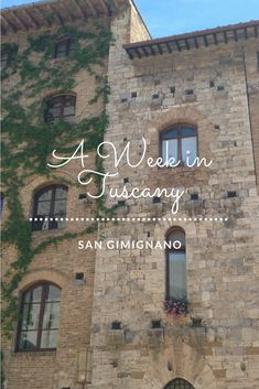 From Florence, Lucca, Pisa, Siena, Monteriggioni, Volterra, San Gimignano, Arezzo to Cortona, with one week in #Tuscany you still won't see it all.