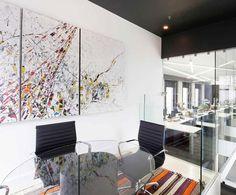 LEMAYMICHAUD   Québec   Design   Office   Corporate   Architecture   Meeting Room  ... Too modern?