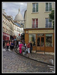 View in Montmartre in Paris, IIe-de-France_ North France