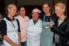 Chef Gabrielle Hamilton, Chef Sue Torres, Chef Anita Lo, Chef Amanda Freitag and Chef Elizabeth Falkner.