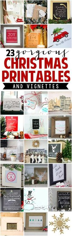 Chrustmas printables
