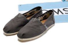 Toms Womens Dark Grey Shoes [Toms054] - $22.00 : Toms Shoes Outlet,Cheap Toms Shoes Outlet Save Up To 80% Off