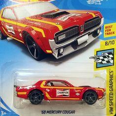 1968 Mercury Cougar #hotwheels #toycollector29 #hotwheelspics #hotwheelscollector #matchbox #diecast #diecasttoys #funkopop #diecastcars #realriders #m2machines #musclecar #hotrod #classiccar #68cougar #mercurycougar #68mercurycougar