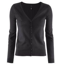 basic cardigan black