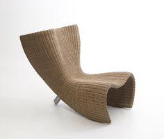 Wicker chair | chair . Stuhl . chaise | Design: Marc Newson |