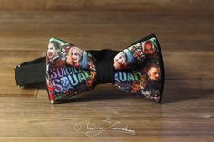 Hey, I found this really awesome Etsy listing at https://www.etsy.com/il-en/listing/458234640/suicide-squad-bow-tie-bowtie