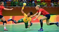 DAY 1:  Handball-Women - Norway vs Brazil