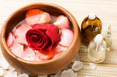 Rose Infused Massage Oil Recipe ~ Bath Alchemy - A Soap Blog and More