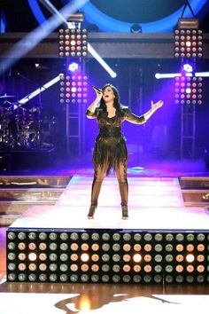 demi at dancing with the stars