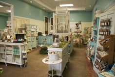 What a gorgeous shop/studio space from Donna Downey