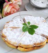 Buttermilch - Waffeln Butter, Camembert Cheese, Pancakes, Dairy, Breakfast, Desserts, Gentleness, Waffles, Milk