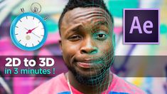 How to Make 2D image to 3D in 3 MINUTES ! - After Effects & Volumax TUTO...
