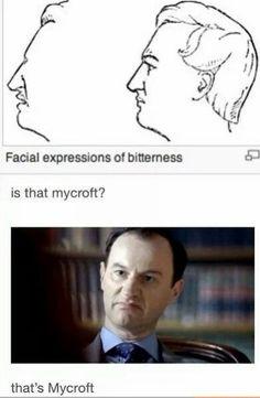 Of course it's Mycroft!