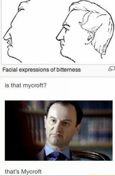Facial expression of bitterness. Facial expression of bitterness. – Sherlock – the expression - Sherlock Bbc, Sherlock Fandom, Sherlock Humor, Jim Moriarty, Martin Freeman, Benedict Cumberbatch, Johnlock, Funny, Hilarious
